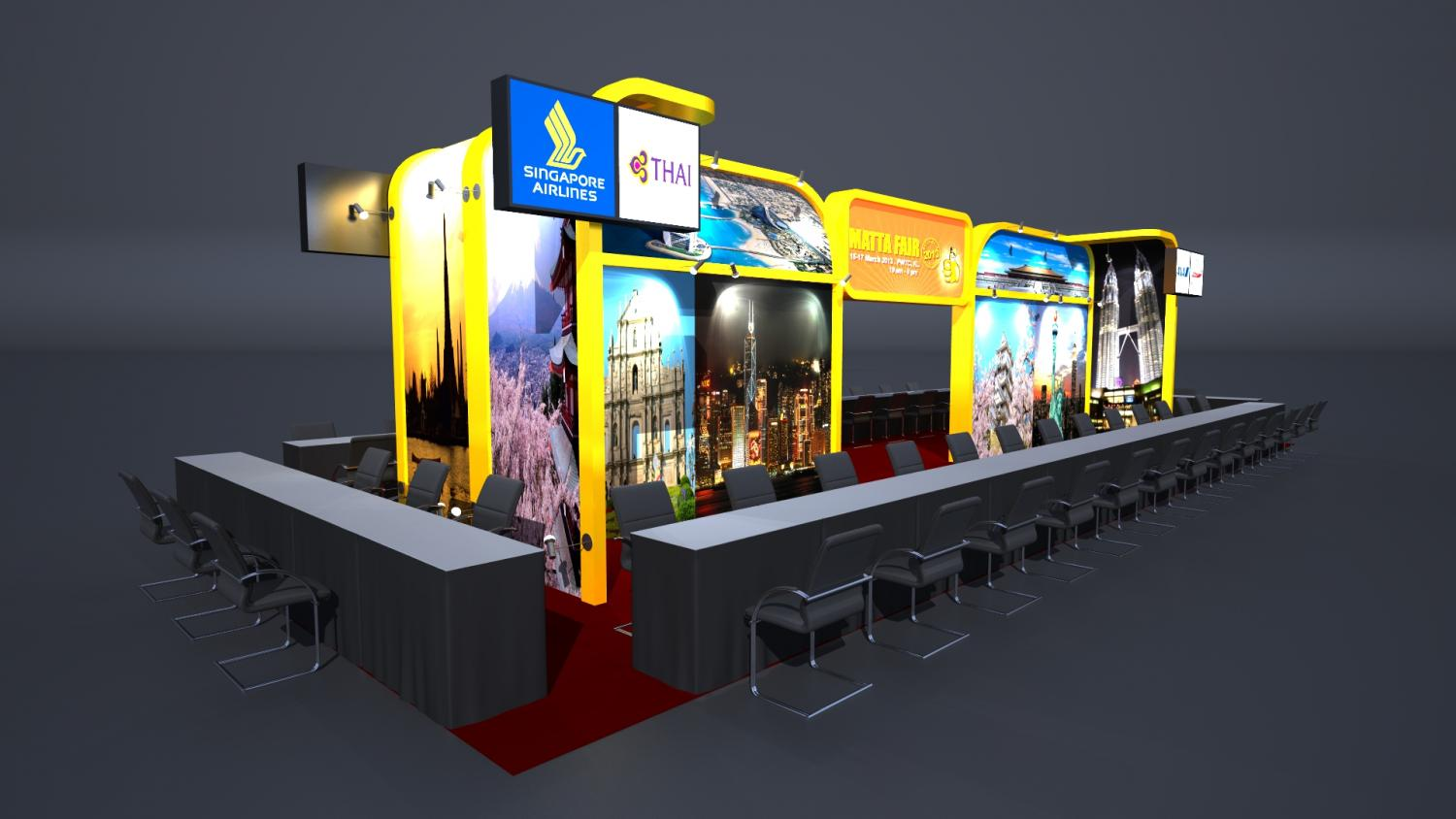Exhibition Booth Rental In Malaysia Backdrop Display Supplier In Malaysia Tradeshow Booth