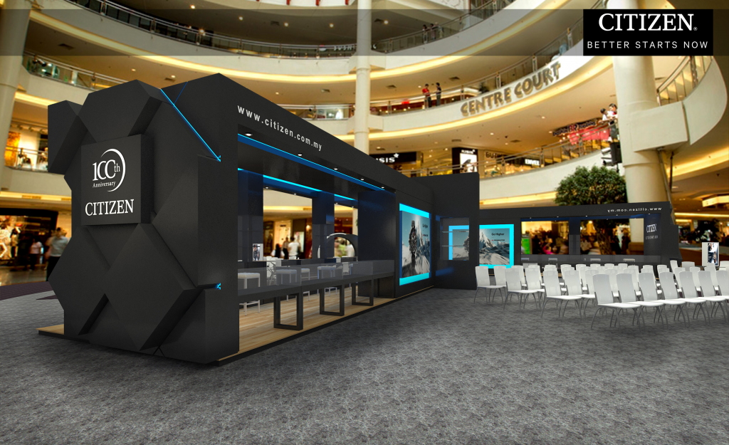 Citizen Booth Design